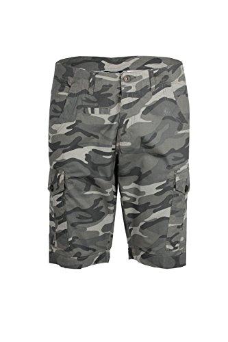 Bermuda camouflage grigio - Taglia: 46