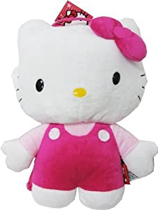 Hello Kitty Plush Backpack Pink
