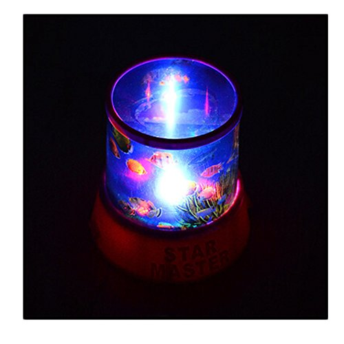Hango Beautiful Romantic Sky Star Master Led Night Light Projector Lamp Amazing Gift ,Xmas Day - Colourful Stars Cosmos Laser Projector Light - Project On The Walls And Ceiling,Romantic Colourful Cosmos Sky Star Master Led Projector Lamp Night Light Gift,