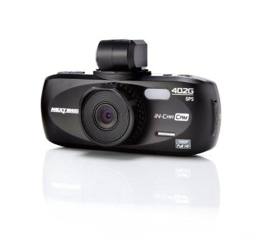 """Nextbase In Car Cam 402G - Fotocamera professionale resistente agli urti, Full HD, HDMI, AV, USB, ingresso schede Micro SD, schermo LCD da 2,7"""", GPS"""