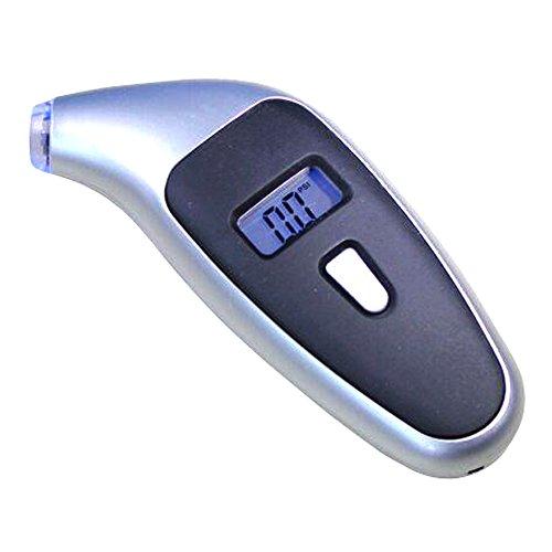 Meirun Digital Tire Pressure Gauge,Diy Tire Pressure Gauge,LCD Display Portable Car Pressure Gauge (Fuel Pressure Gauge Lighted compare prices)