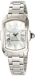 Invicta Women's 15155 Lupah Silver Dial Stainless Steel Watch