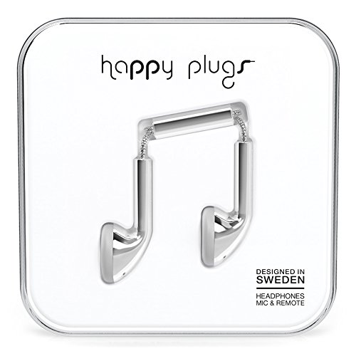 Happy Plugs 7735 Earbuds Silver (Happy Plugs Deluxe compare prices)