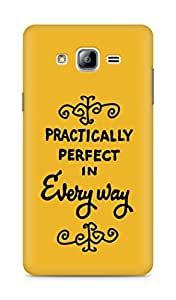 AMEZ practically perfect in every way Back Cover For Samsung Galaxy ON7