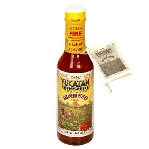 TryMe Yucatan Sunshine Habanero Pepper Sauce - 5 oz