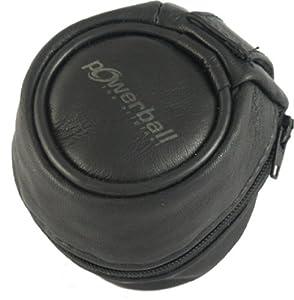 Kernpower - 047 - Sachet de transport en cuir pour Ironpower Ball Accessoire Noir