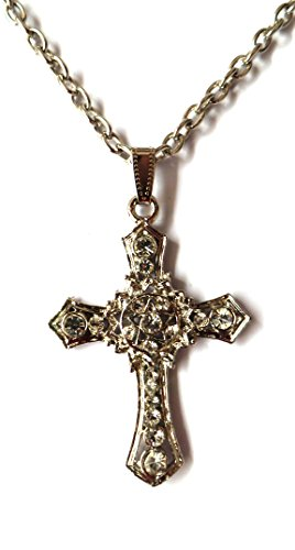 Buy modish look jesus christ cross locket with silver chain mens modish look jesus christ cross locket with silver chain mens jewellery thecheapjerseys Image collections