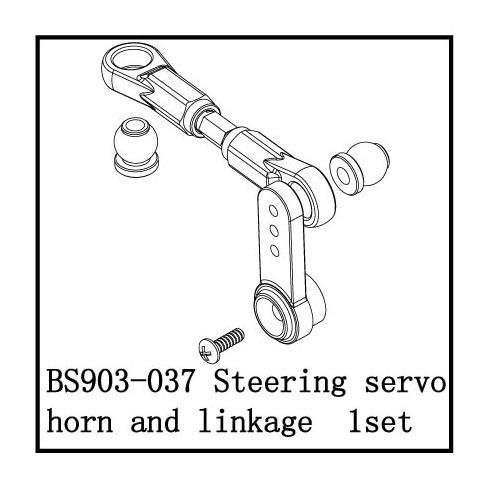 Redcat Racing Steering Servo Horn & Linkage
