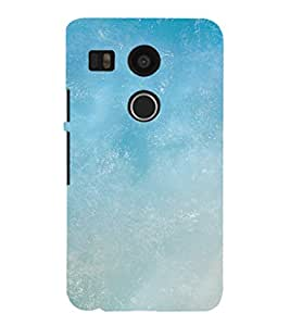 EPICCASE Blue Sky Mobile Back Case Cover For LG Nexus 5x (Designer Case)