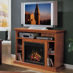 amish electric heater store classic flame beverly electric fireplace and tv stand in premium. Black Bedroom Furniture Sets. Home Design Ideas