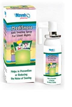 ANTI SNORING THROAT Oral SPRAY MEDISNORE STOP RELIEF SNORE 100% Natural