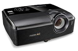 ViewSonic PRO8300 Full HD 1080p DLP Business Projector, 3,000 ANSI Lumens, 4,000:1 DCR - Black