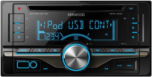 KENWOOD MP3/WMA/AAC/WAV対応 デュアルサイズCD/USBレシーバー DPX-U510