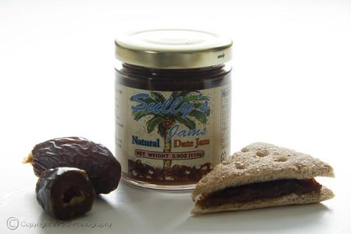 100% Natural Gourmet Date Jam - 4 Ounce Jar