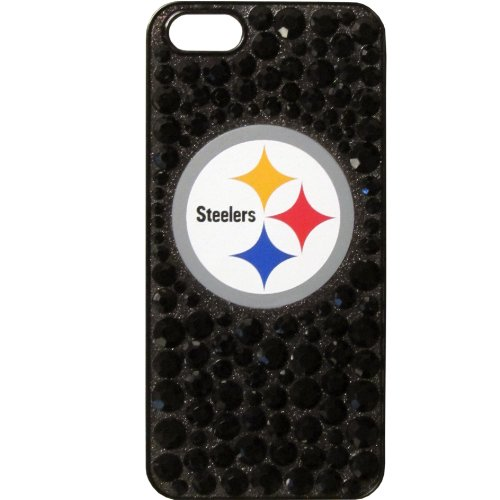 NFL Pittsburgh Steelers iPhone 5/5S Dazzle Snap on Case by Siskiyou Gifts Co, Inc.
