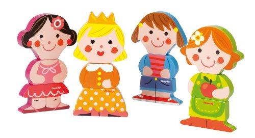 janod  j woodentoy, dolls