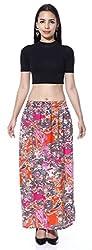 Multi Color Paisley skirt