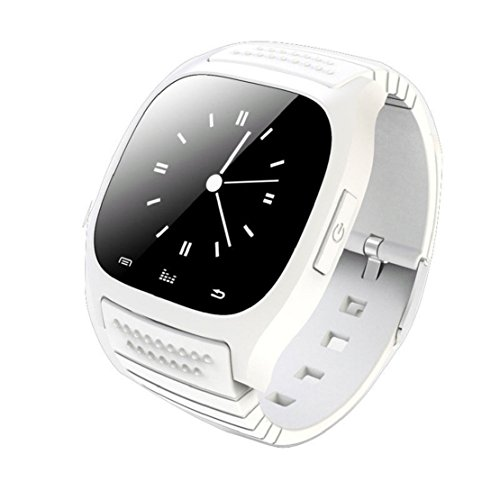 Towallmark(Tm)Bluetooth Wrist Smart Phone Watch For Ios Android Samsung Iphone Htc (White)