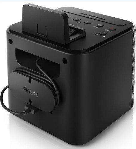 Radio iphone android speaker dock speakerphone microphone black