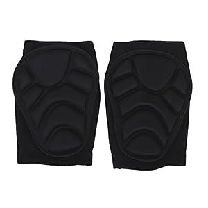 1 paire Genouillères Rembourrées de Mousse Protecteur pour Sport Ski Volley-ball Basket-ball Patinage (XS)