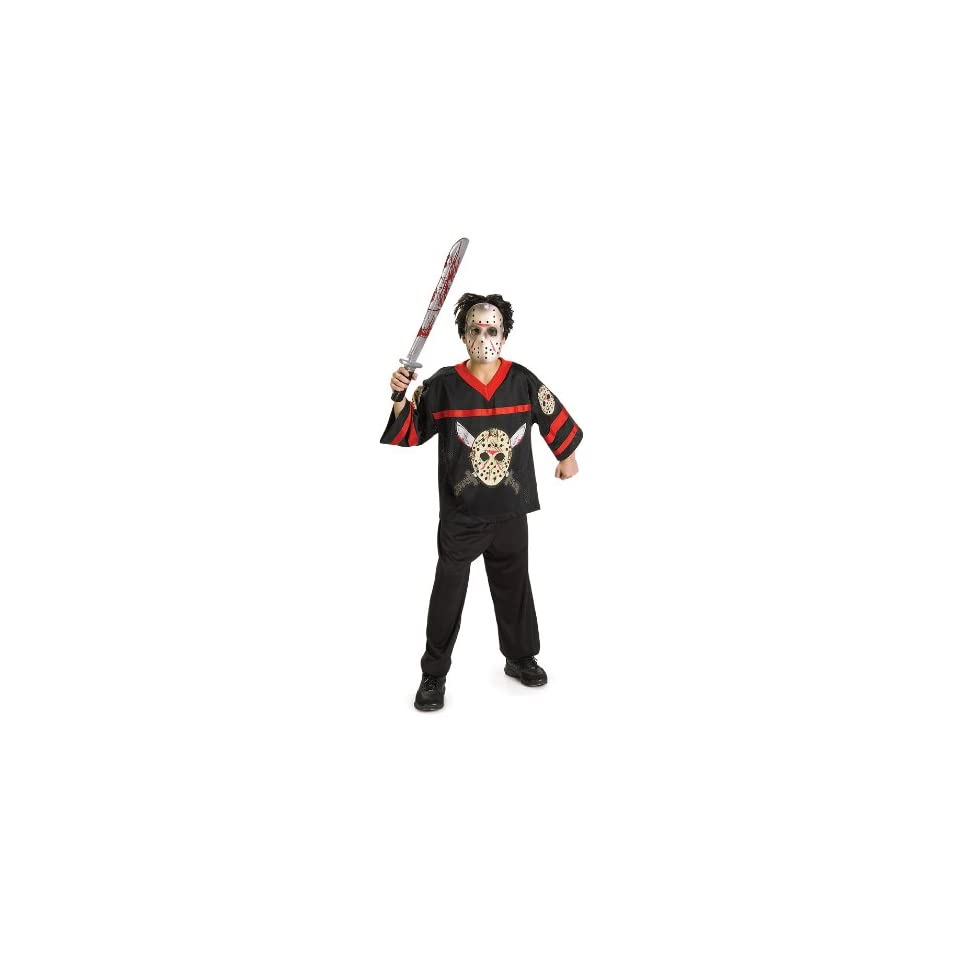 Jason Hockey Jersey and Mask Child Costume