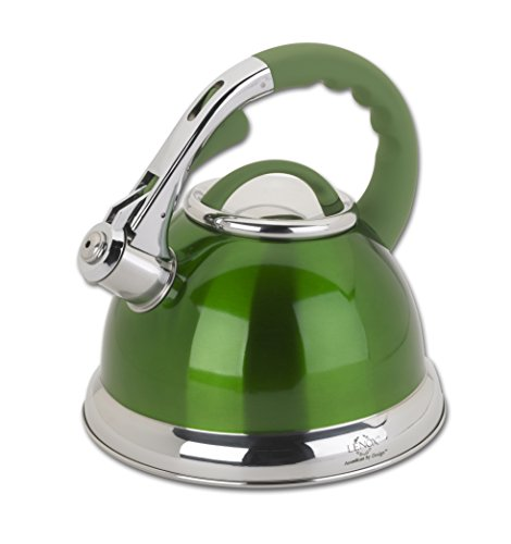 Lenox L-12184 Ss Tea Kettle, 2.5-Quart, Green