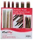 Knit Pro Symfonie Wood Double Pointed Sock Knitting Needle Set 15cm