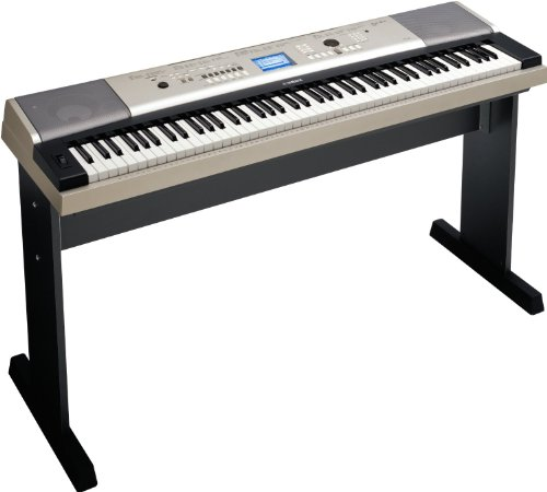 Yamaha Ypg-535 88-Key Portable Grand Graded-Action Usb Keyboard With Matching Stand And Sustain Pedal