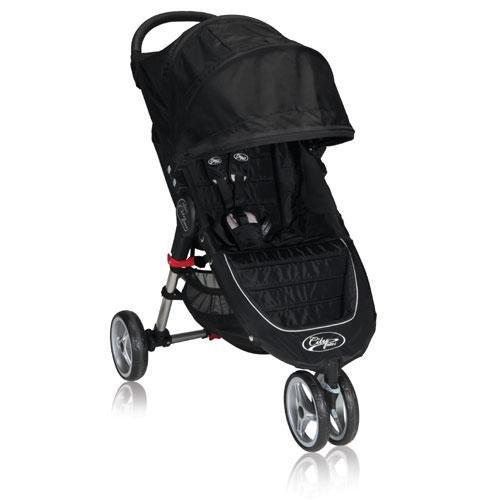 Baby Jogger City Mini Single, Black/Gray