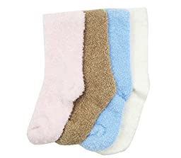 Ultra X Baby Cozy Socks (Set Of 4) Fits 0-2 years Plain Colours Set
