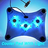 1237 FREE DELIVERY BNIB TOP QUALITY 3 FAN COOLING PAD COOLER PAD STAND WITH 3 BLUE LED BACKLIGHT FOR PC LAPTOP NOTEBOOK PS2 PS3 PLAYSTATION 3 XBOX XBOX 360 XBOX360 DVD PLAYER - 12 Months Warranty >>> THT Trade