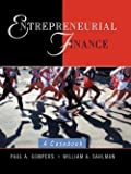 img - for Entrepreneurial Finance : A Casebook (Paperback)--by Paul A. Gompers [2001 Edition] book / textbook / text book