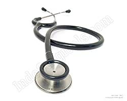 IndoSurgicals Stethoscope Littmann Type (Black)