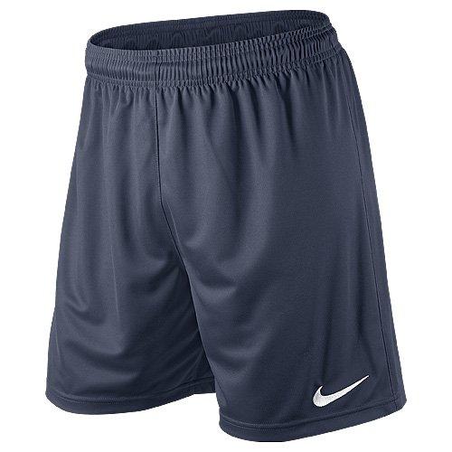 Nike Pantaloni corti sportivi Park Knit per calcio, Uomo, Blu (argon blue), L