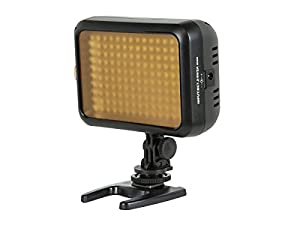 Monoprice 110571 LED Video Camcorder Light with 140 Pieces LED and 960 Lumens Brightness
