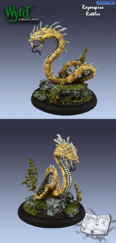 Razorspine Rattler Arcanists Malifaux by Wyrd Miniatures