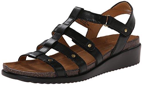 naturalizer-finale-femmes-us-11-noir-sandales-gladiateur