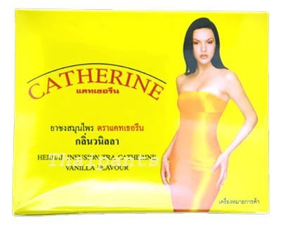 Catherine Slimming Herbal Tea Diet Weight Loss Vanilla
