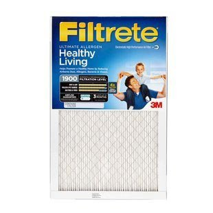 20x30x1 (19.7 x 29.7) Filtrete 1900 Ultimate Allergen Reduction Filter by 3M (4 Pack) (Filtrete 20 X 30 compare prices)