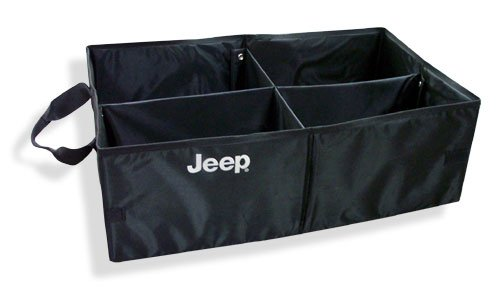 Mopar 82208566 OEM Collapsible Cargo Tote with Jeep Logo