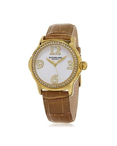 Stührling Women's 592.04 Vogue Beige Watch