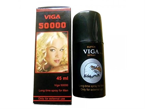 2 Lot X Viga 50000 (Delay Spray For Men) With Vitamin E - Long Last Sex