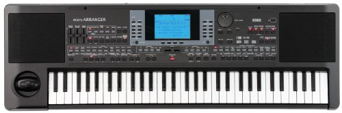 Korg MICROARRANGER 61-Mini Key Professional Arranger Keyboard with Speakers