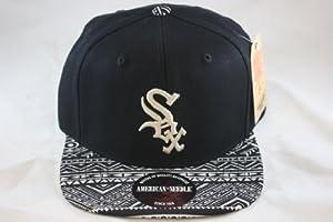 Chicago White Sox MLB Baseball American Needle Ancestor Adjustable Strap Cap Flatbrim... by American Needle
