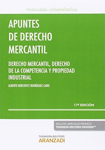Apuntes de Derecho Mercantil (17 ed. - 2016) (Manuales)
