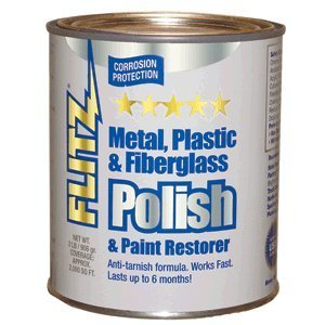 flitz ca 03518 6 blue metal plastic and fiberglass polish paste 2 0 lbs quart can. Black Bedroom Furniture Sets. Home Design Ideas