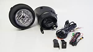 Fog Lights / Lamps Kit for Toyota Tundra 2007 - 2012 by Kramer Accessories
