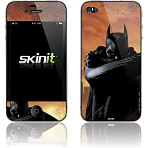 Batman illustrated cartoon SkinIt vinyl decal skin / sticker for iphone 4/4s at amazon