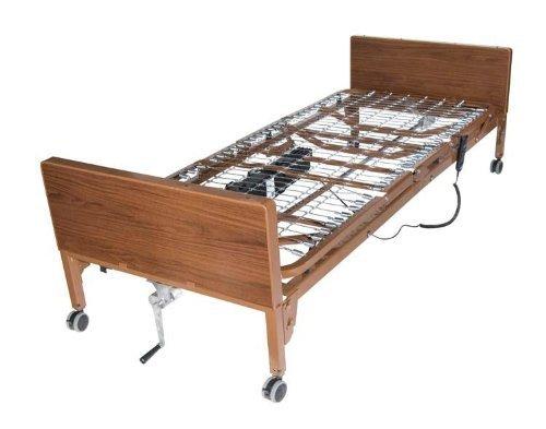 Semi Electric Ultra Light Plus Hospital Bed Half-Rail Size/No Mattress