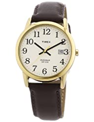 Timex T2N369 Reader Brown Leather
